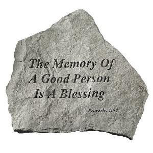 In Memory Of A Good Person