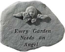 every garden needs an angel